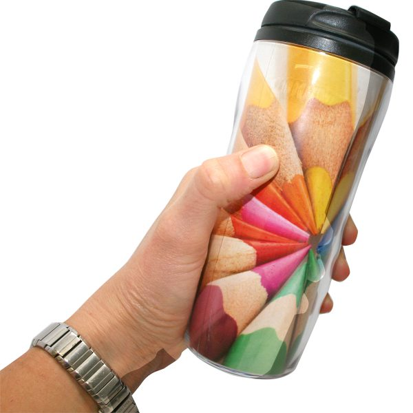 PROMO-Mug Thermomug en plastique avec impression photo