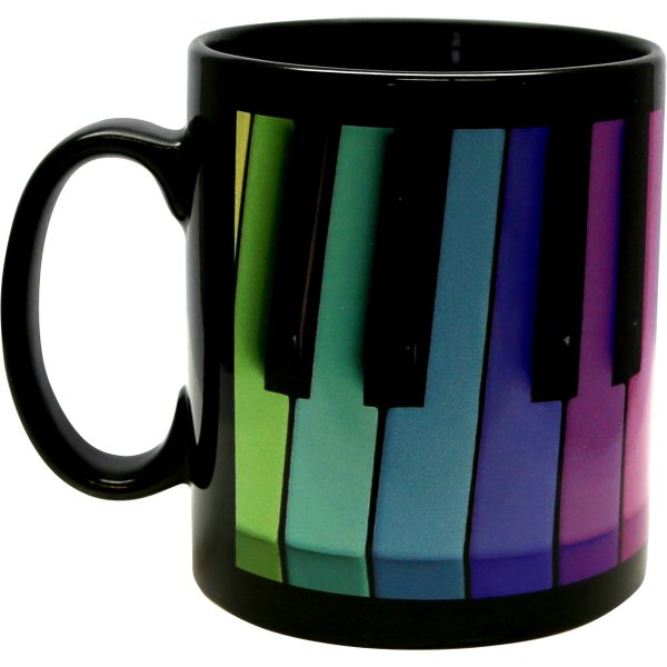 Modern-life, Mug en sublimation noir, 300 ml