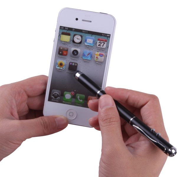 4 in 1 Touchpen avec laser|LED