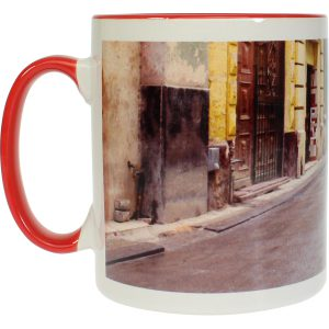 Modern-life Color rouge, Mug en sublimation, 300 ml