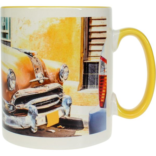 Modern-life Color jaune, Mug en sublimation, 300 ml