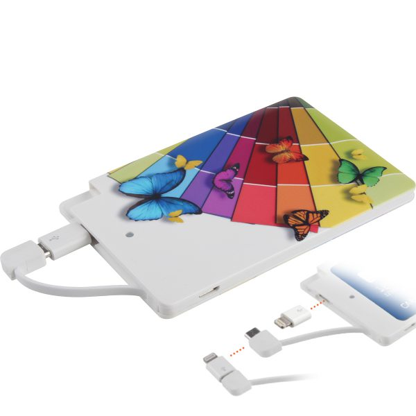 CARD, chargeur 2500 mAh Stock