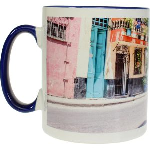 Modern-life Color bleu, Mug en sublimation, 300 ml